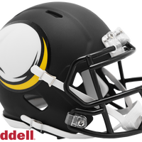 MINNESOTA VIKINGS AMP MINI HELMET