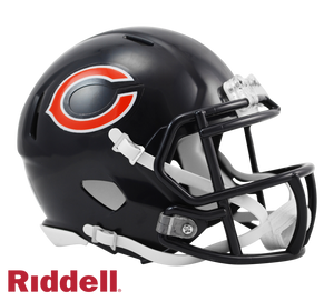 CHICAGO BEARS CURRENT STYLE SPEED MINI HELMET