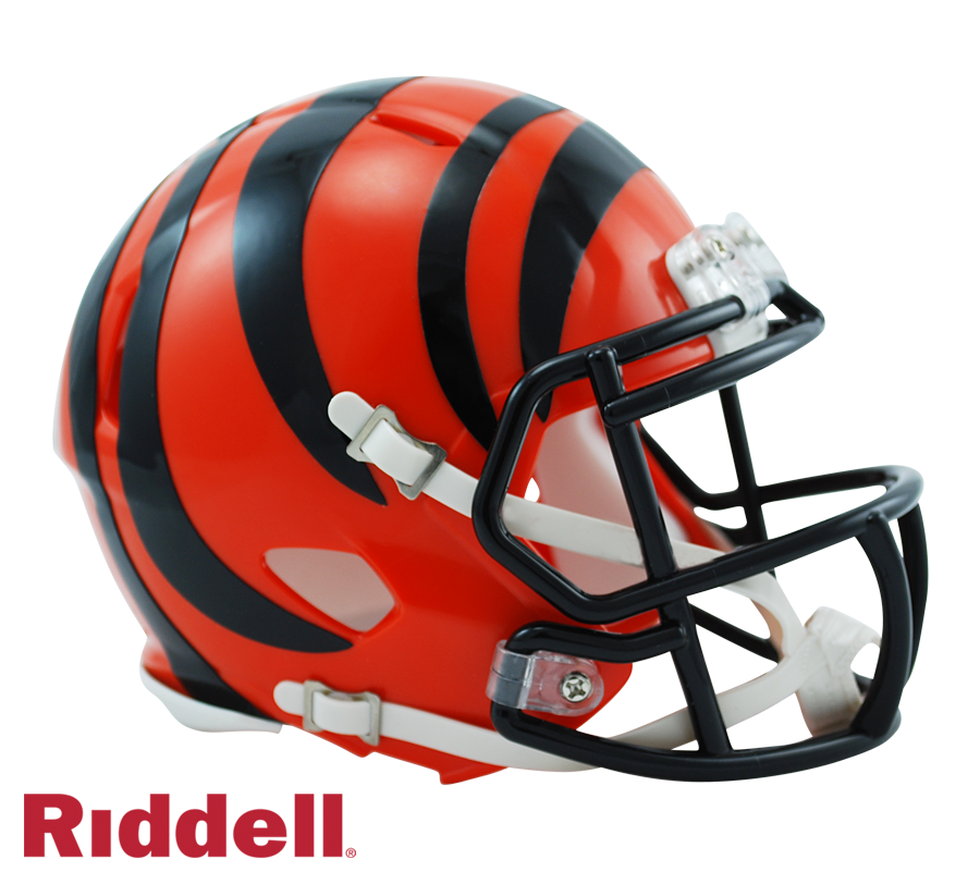 CINCINNATI BENGALS CURRENT STYLE SPEED MINI HELMET