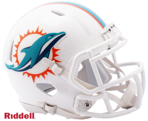 MIAMI DOLPHINS CURRENT STYLE SPEED MINI HELMET