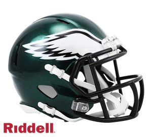 PHILADELPHIA EAGLES CURRENT STYLE SPEED MINI HELMET