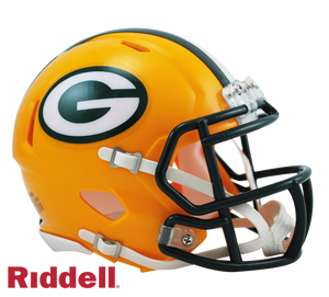 GREEN BAY PACKERS CURRENT STYLE SPEED MINI HELMET