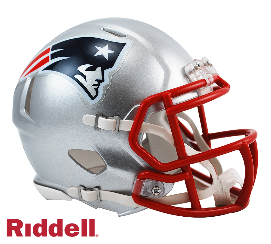 NEW ENGLAND PATRIOTS CURRENT STYLE SPEED MINI HELMET