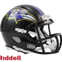 BALTIMORE RAVENS CURRENT STYLE SPEED MINI HELMET