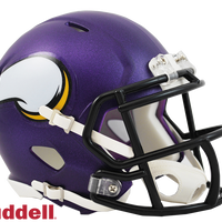 MINNESOTA VIKINGS CURRENT STYLE SPEED MINI HELMET