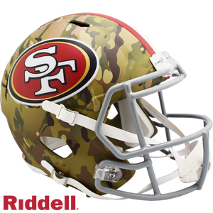 SAN FRANCISCO 49ERS CAMO SPEED REPLICA HELMET