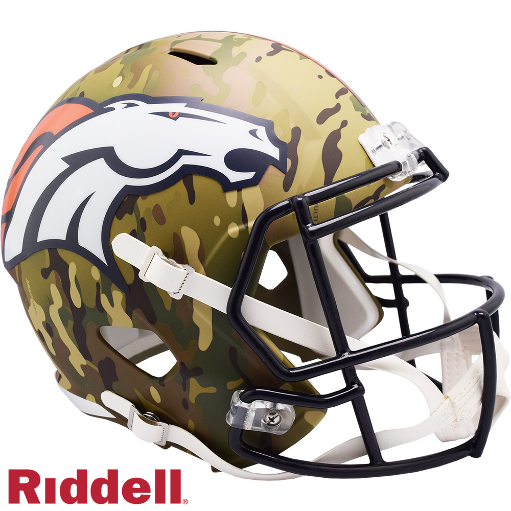 DENVER BRONCOS CAMO SPEED REPLICA HELMET