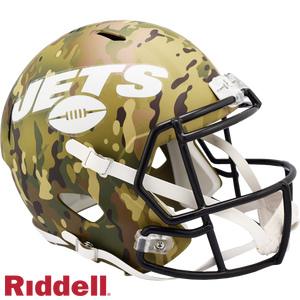 NEW YORK JETS CAMO SPEED REPLICA HELMET