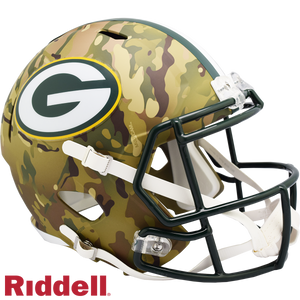 GREEN BAY PACKERS CAMO SPEED REPLICA HELMET