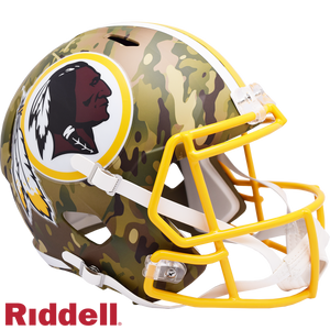 WASHINGTON REDSKINS CAMO SPEED REPLICA HELMET