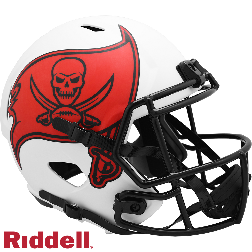 TAMPA BAY BUCCANEERS LUNAR SPEED REPLICA HELMET