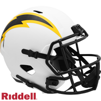 LOS ANGELES CHARGERS LUNAR SPEED REPLICA HELMET
