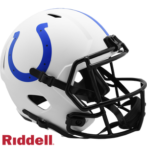INDIANAPOLIS COLTS LUNAR SPEED REPLICA HELMET