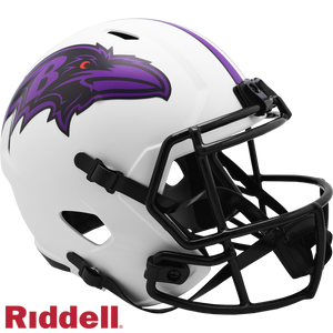 BALTIMORE RAVENS LUNAR SPEED REPLICA HELMET