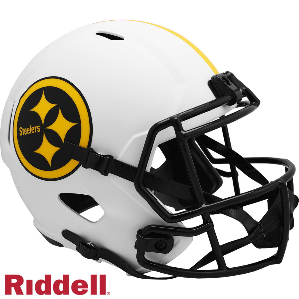 PITTSBURGH STEELERS LUNAR SPEED REPLICA HELMET