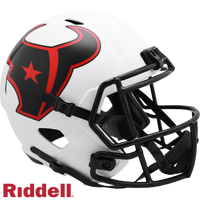 HOUSTON TEXANS LUNAR SPEED REPLICA HELMET