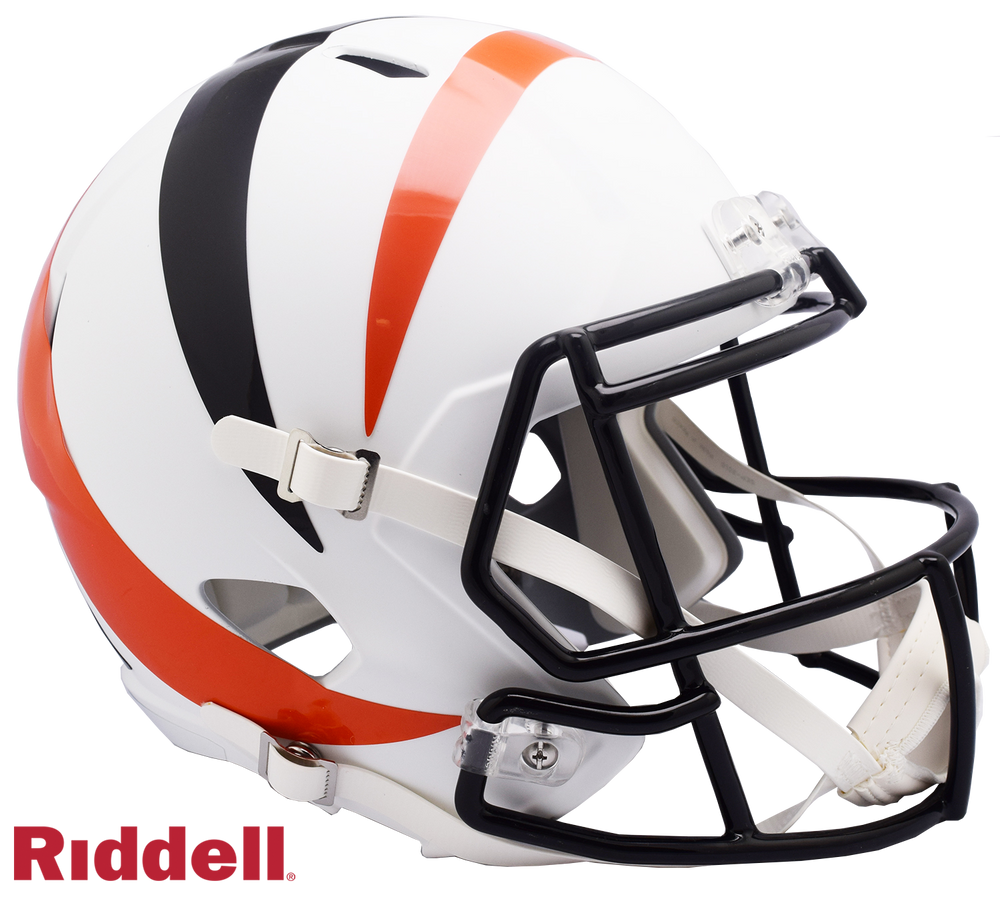 CINCINNATI BENGALS AMP SPEED REPLICA HELMET