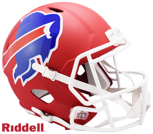 BUFFALO BILLS AMP SPEED REPLICA HELMET