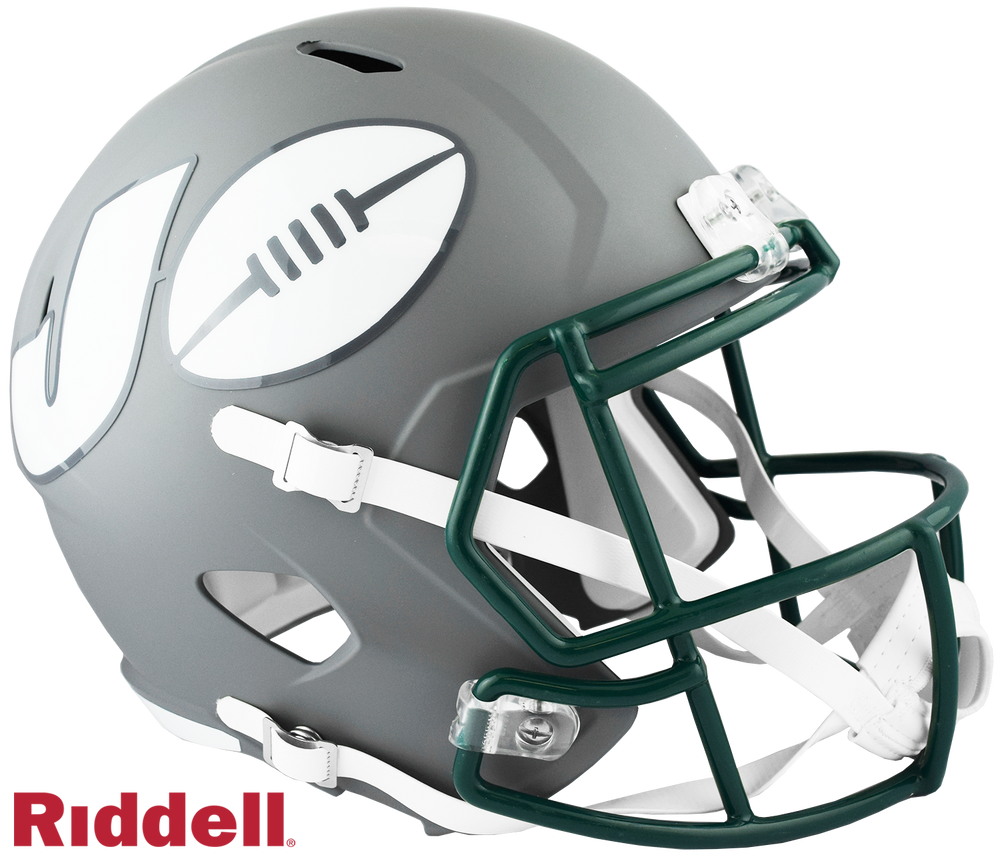 NEW YORK JETS AMP SPEED REPLICA HELMET