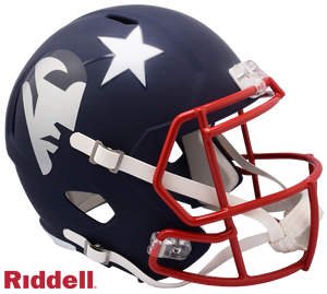 NEW ENGLAND PATRIOTS AMP SPEED REPLICA HELMET