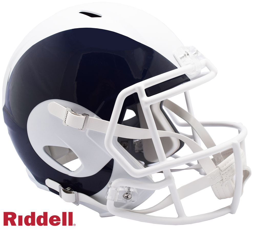 LOS ANGELES RAMS AMP SPEED REPLICA HELMET