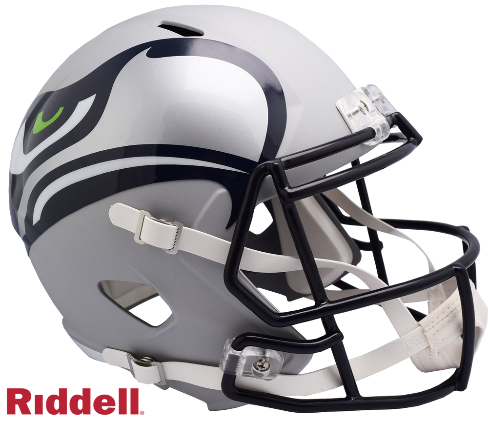 SEATTLE SEAHAWKS AMP SPEED REPLICA HELMET