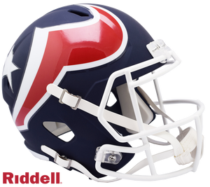 HOUSTON TEXANS AMP SPEED REPLICA HELMET