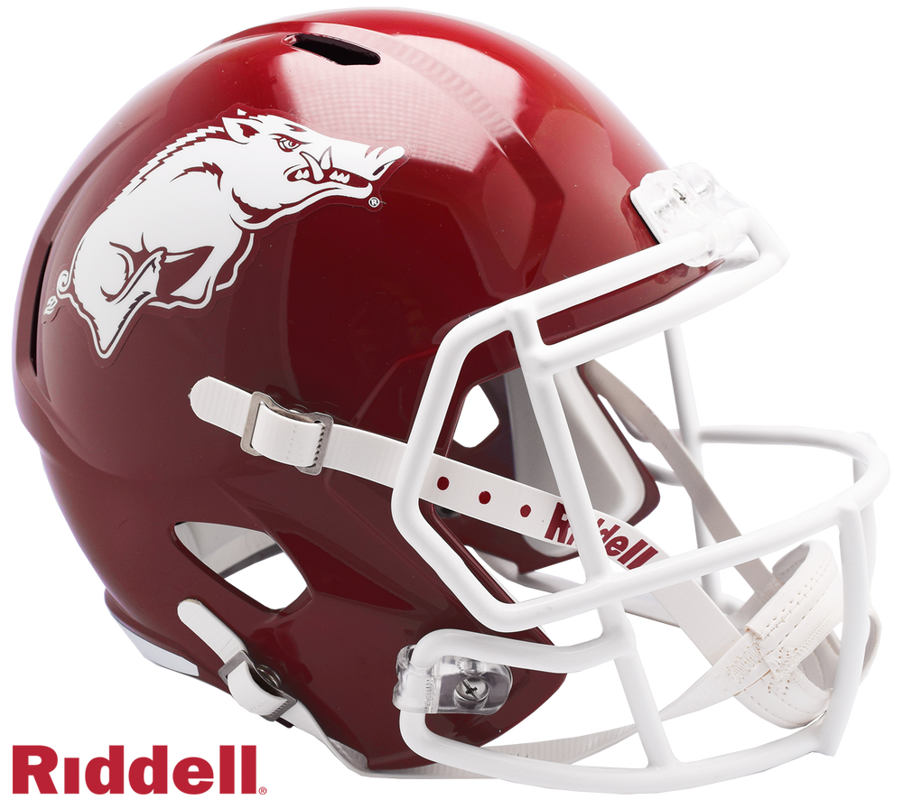 ARKANSAS RAZORBACKS NCAA SPEED REPLICA HELMET