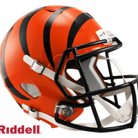 CINCINNATI BENGALS CURRENT STYLE SPEED REPLICA HELMET