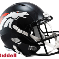 DENVER BRONCOS CURRENT STYLE SPEED REPLICA HELMET