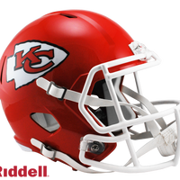 KANSAS CITY CHIEFS CURRENT STYLE SPEED REPLICA HELMET