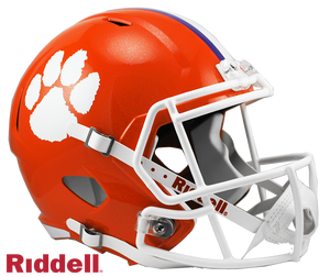 CLEMSON TIGERS NCAA SPEED REPLICA HELMET