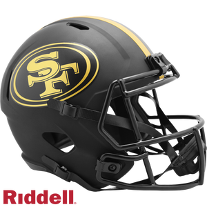 SAN FRANCISCO 49ERS ECLIPSE SPEED REPLICA HELMET