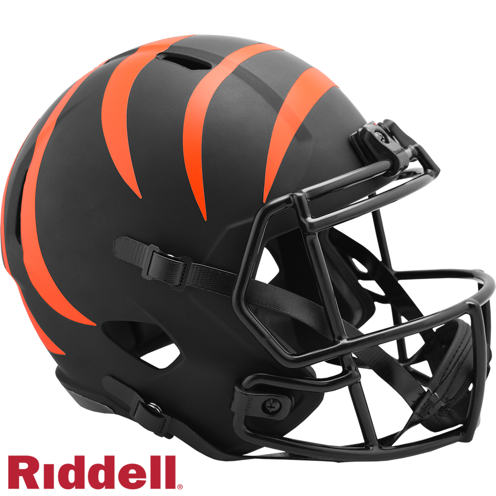 CINCINNATI BENGALS ECLIPSE SPEED REPLICA HELMET