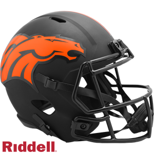 DENVER BRONCOS ECLIPSE SPEED REPLICA HELMET