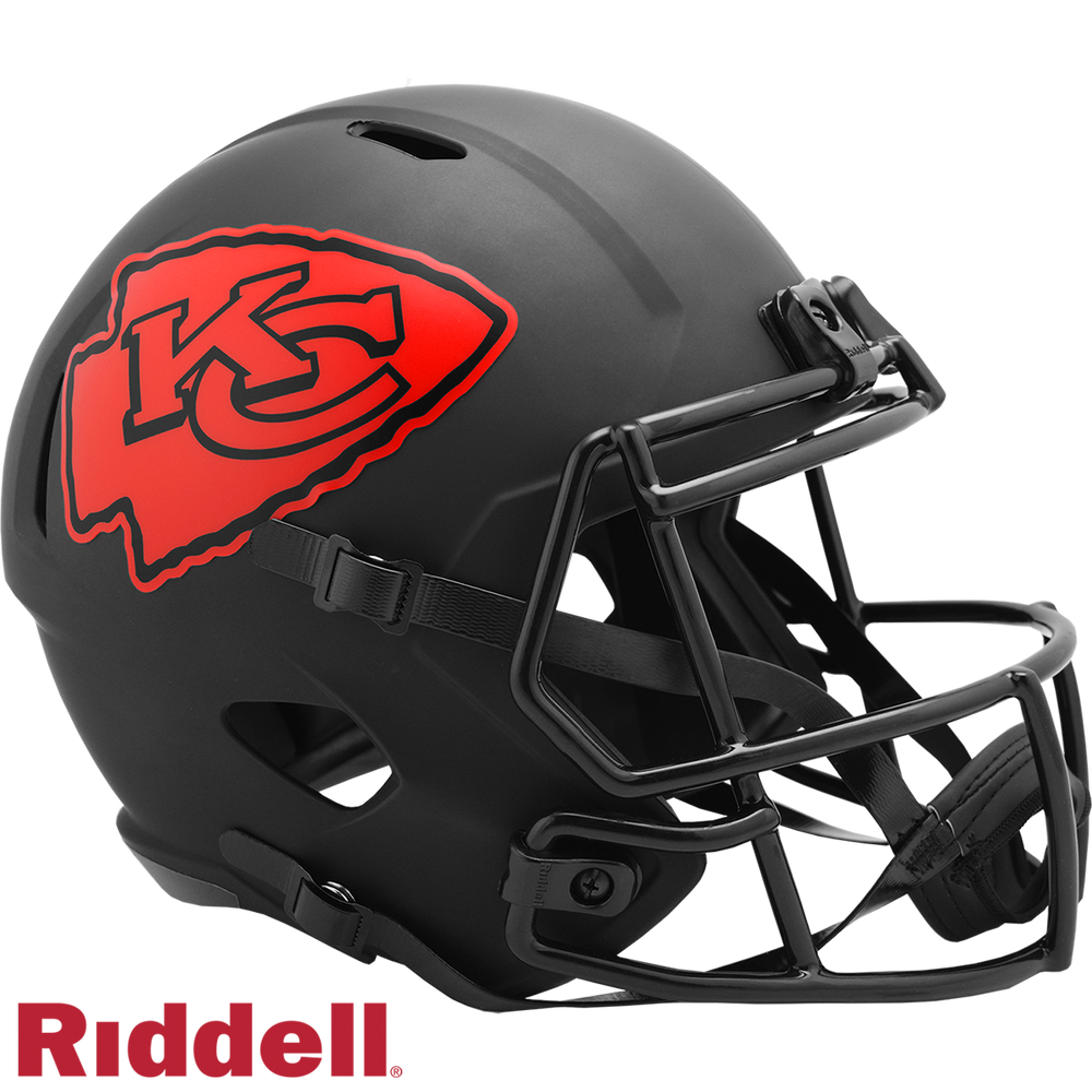 KANSAS CITY CHIEFS ECLIPSE SPEED REPLICA HELMET