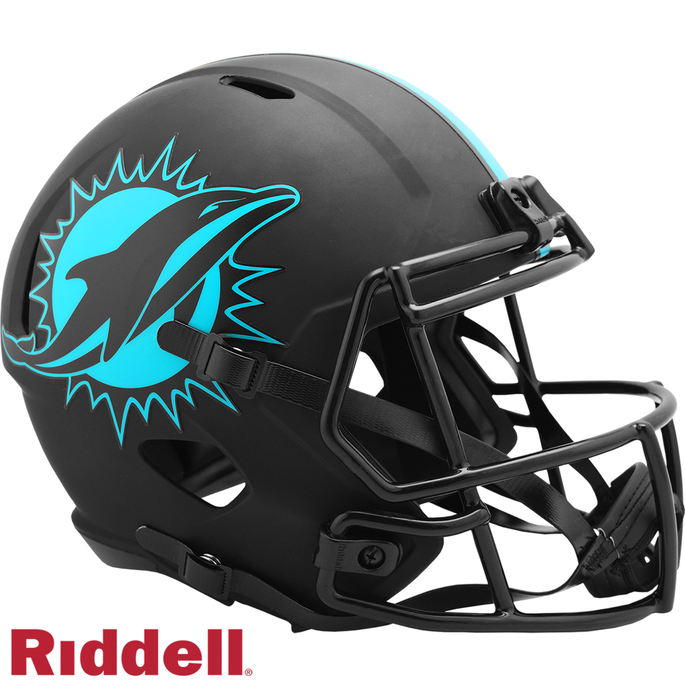 MIAMI DOLPHINS ECLIPSE SPEED REPLICA HELMET