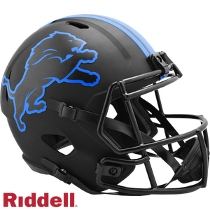 DETROIT LIONS ECLIPSE SPEED REPLICA HELMET