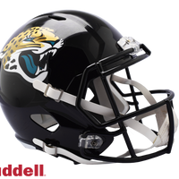 JACKSONVILLE JAGUARS CURRENT STYLE SPEED REPLICA HELMET
