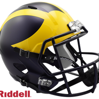MICHIGAN WOLVERINES NCAA SPEED REPLICA HELMET