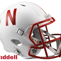NEBRASKA CORNHUSKERS NCAA SPEED REPLICA HELMET