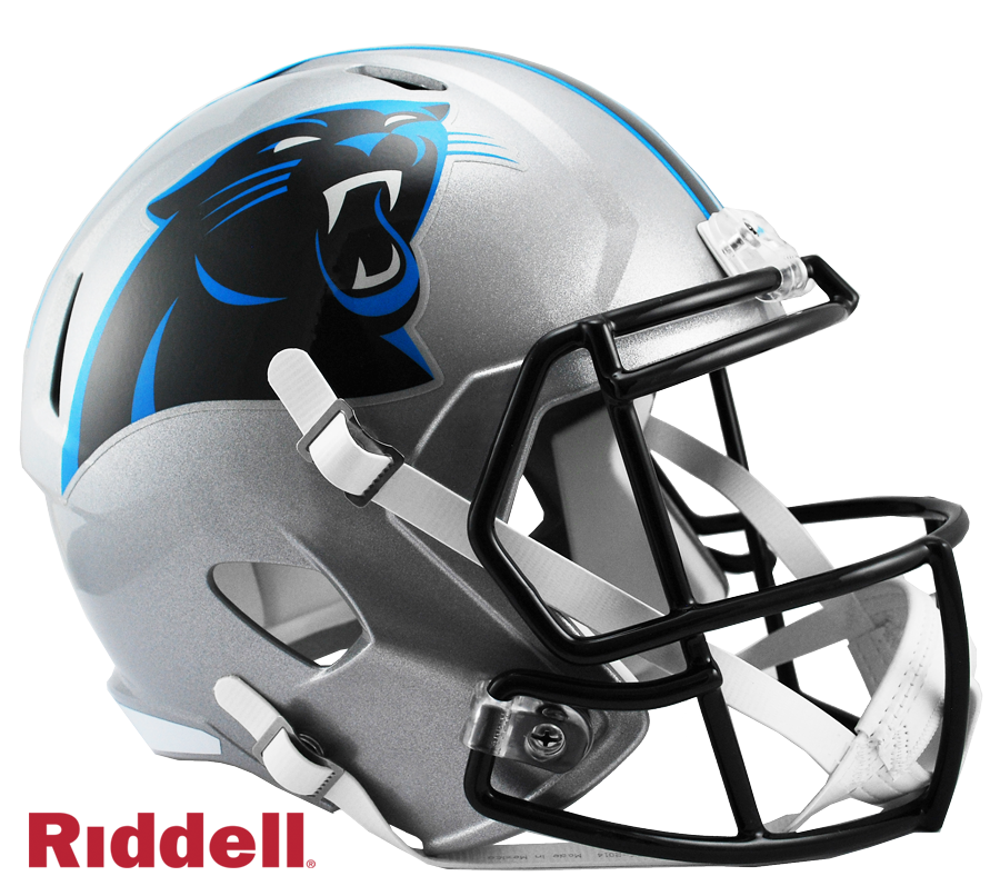 CAROLINA PANTHERS CURRENT STYLE SPEED REPLICA HELMET
