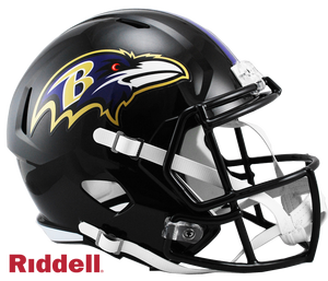 BALTIMORE RAVENS CURRENT STYLE SPEED REPLICA HELMET