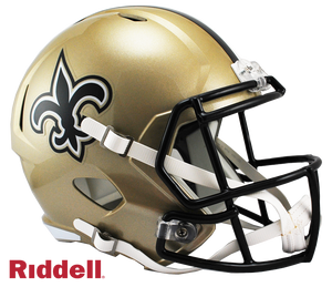 NEW ORLEANS SAINTS CURRENT STYLE SPEED REPLICA HELMET