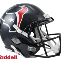 HOUSTON TEXANS CURRENT STYLE SPEED REPLICA HELMET