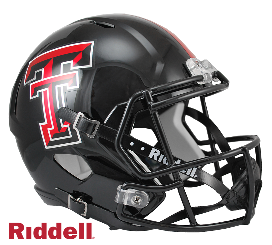TEXAS TECH RED RAIDERS NCAA SPEED REPLICA HELMET
