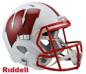 WISCONSIN BADGERS NCAA SPEED REPLICA HELMET