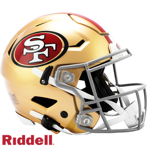 SAN FRANCISCO 49ERS SPEEDFLEX AUTHENTIC HELMET