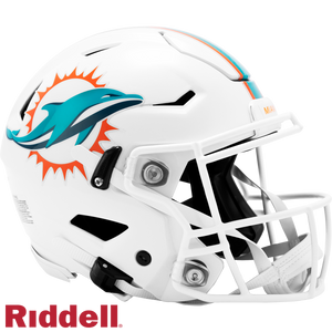MIAMI DOLPHINS SPEEDFLEX AUTHENTIC HELMET