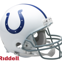 INDIANAPOLIS COLTS CURRENT STYLE VSR4 AUTHENTIC HELMET